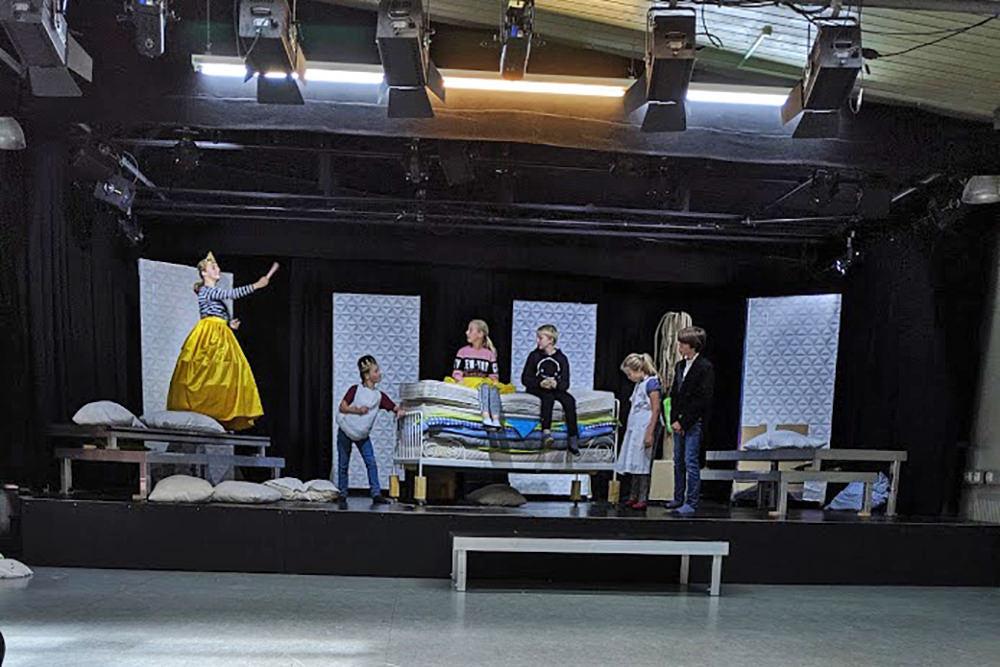 Hauptprobenzeit für das Weihnachtsmärchen 2019 am theater im e.novum