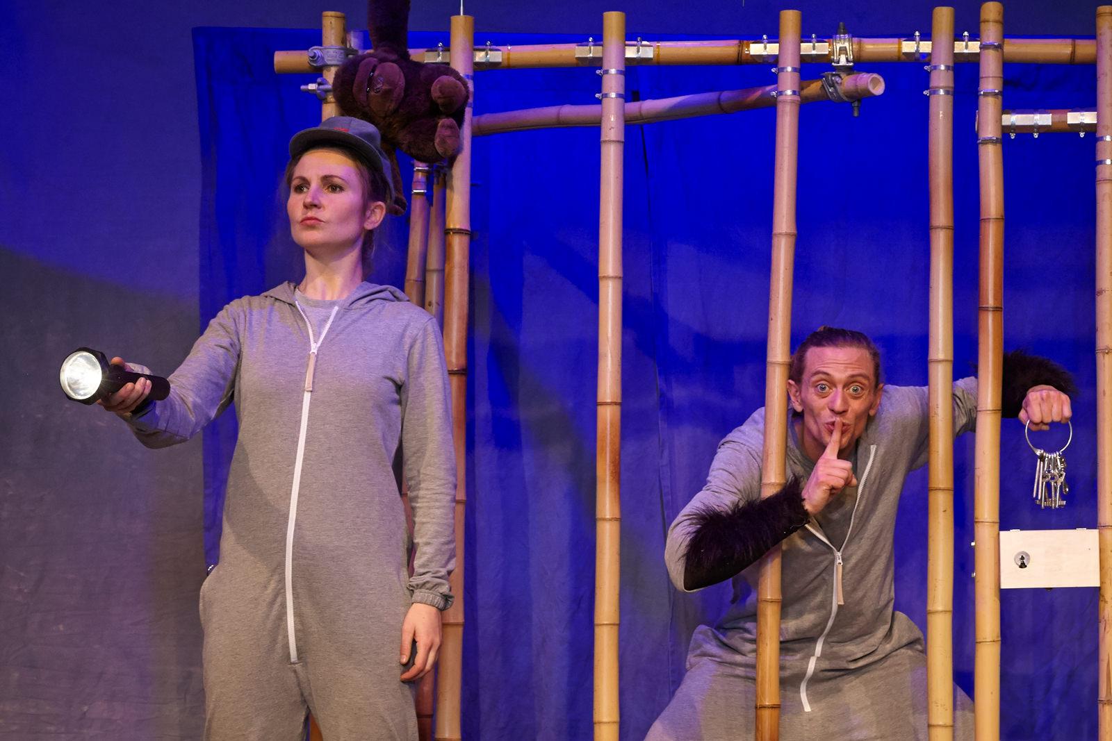 Kindertheater - Gastspiel Gorilla am Theater im e.novum in Lüneburg
