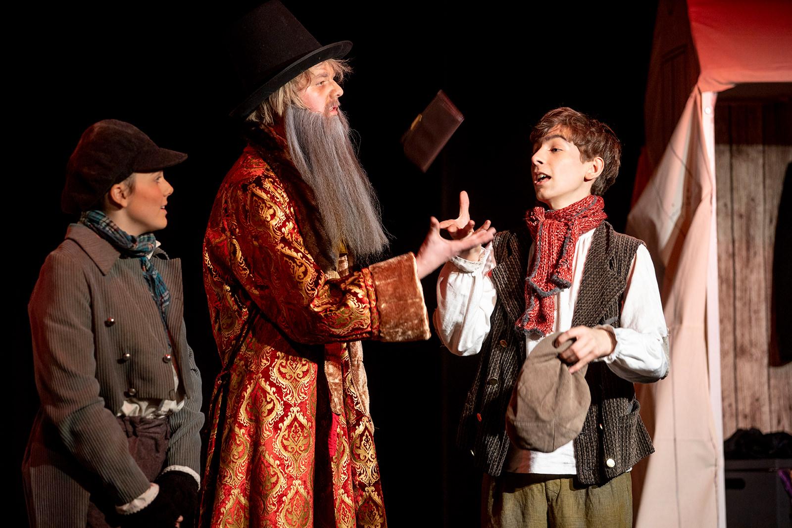 Oliver Twist - Kinderbuchklassiker im theater e.novum in Lüneburg