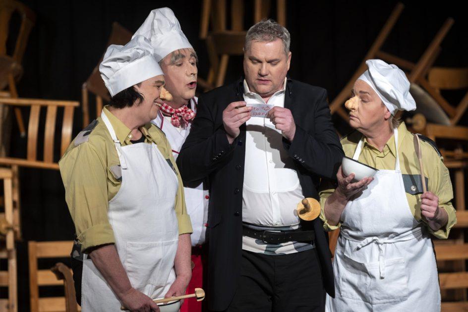 Cyrano de Bergerac im theater im e.novum
